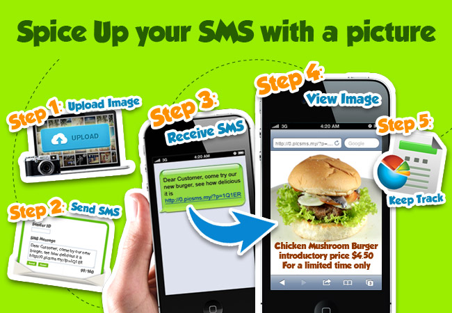 One Way SMS - Picture SMS Services